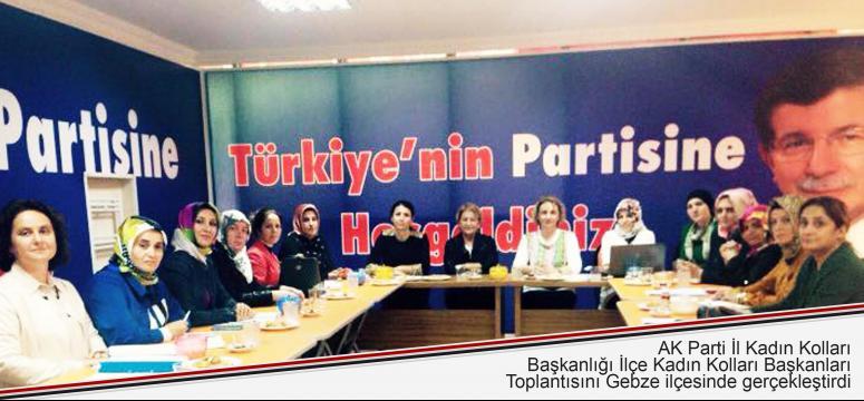 AK Kadınlar Gebze'de buluştu