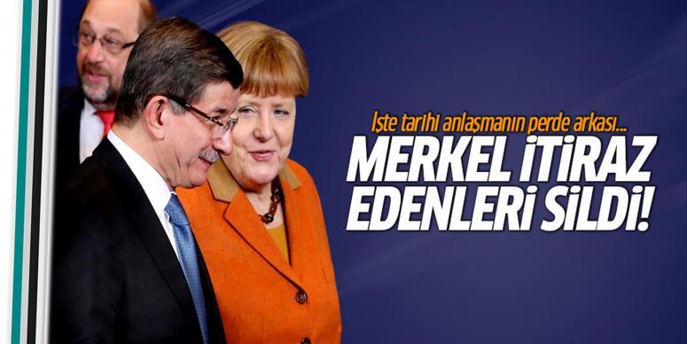 Merkel o ülkeleri sildi!