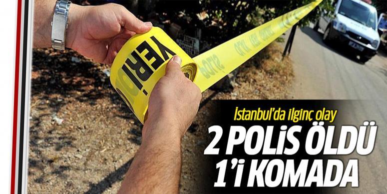 2 polis evlerinde ölü bulundu