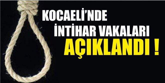Kocaeli'de intihar eden sayısı bakın ne kadar?
