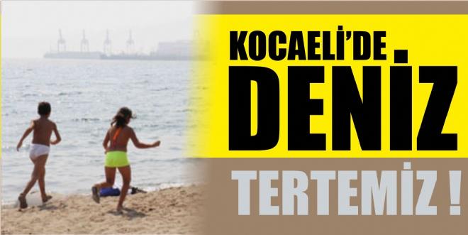 Kocaeli'de Deniz Tertemiz