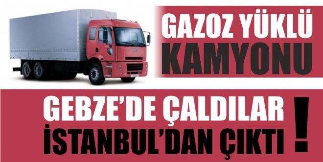 GEBZE'DE ÇALINDI İSTANBUL'DA BULUNDU!
