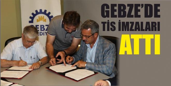 Gebze'de TİS imzaları atıldı