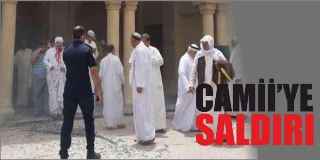 Kuveyt'te Şii camisine saldırı Camide 2 bin kişi namaz kılarken...