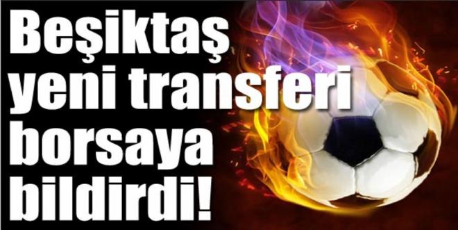 Beşiktaş'tan KAP'a Beck açıklaması!