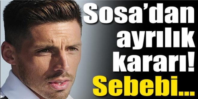 Jose Sosa'dan ayrılık kararı!