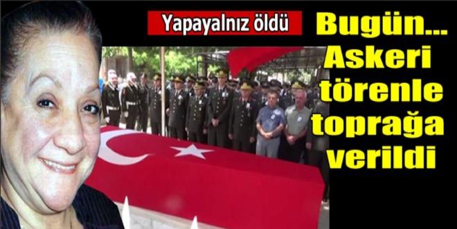 Adile Naşit'in eşi askeri törenle toprağa verildi