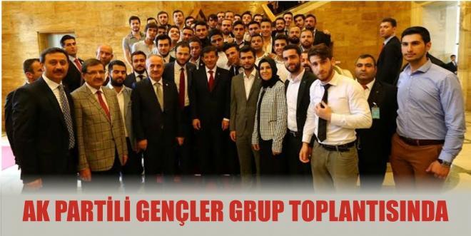 AK  Partili Gençler, grup toplantısında