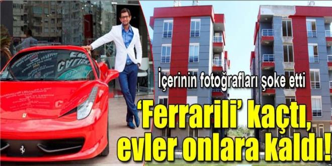Ferrarili müteahhidin sitesi madde bağımlılarına kaldı!