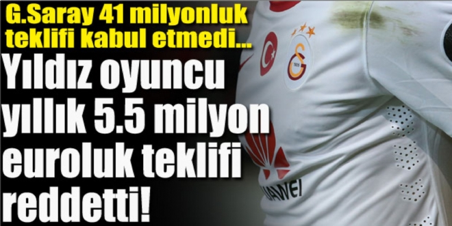 Galatasaray'a Burak Yılmaz'a teklifi reddetti!