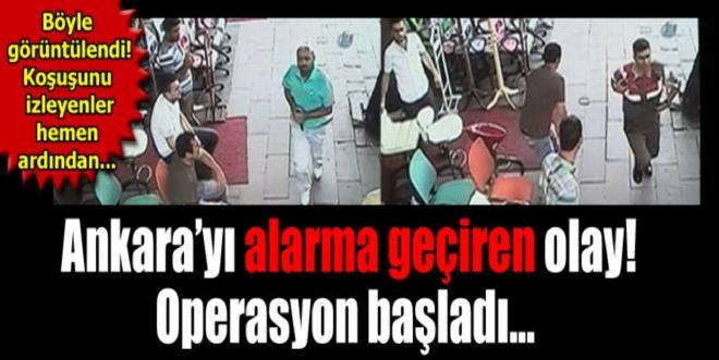 Hastaneye getirilen mahkum uzman çavuşu silahla yaralayıp firar etti