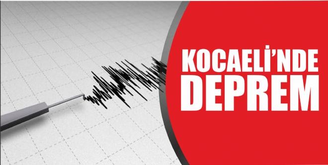 Kandıra'da deprem oldu