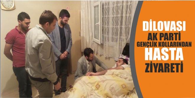 AK Parti Dilovası Gençlik Kollarından Hasta Ziyareti
