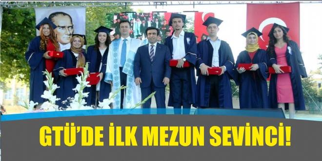 GTÜ ilk mezunlarını verdi