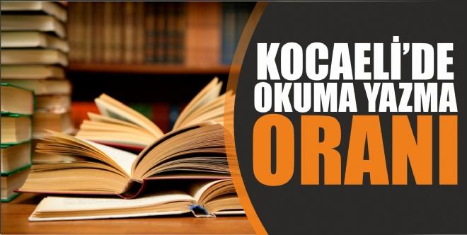 Kocaeli'de 41 bin kişi okuma yazma bilmiyor