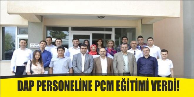 DAP Personeline PCM Eğitimi Verildi
