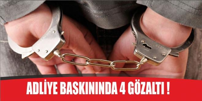 Rüşvet operasyonunda 4 tutuklama!
