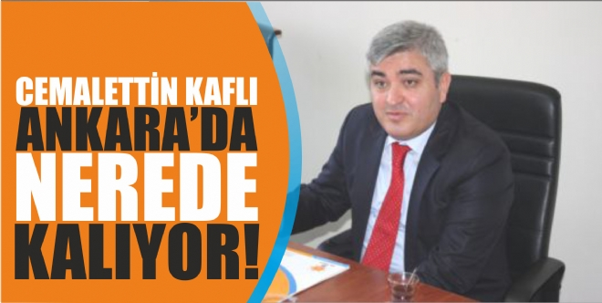 Kaflı Ankara'da ev açmıyor!