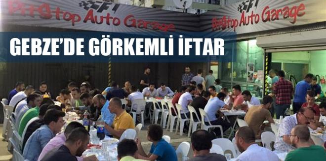 PitStop Auto Garage'den görkemli iftar!