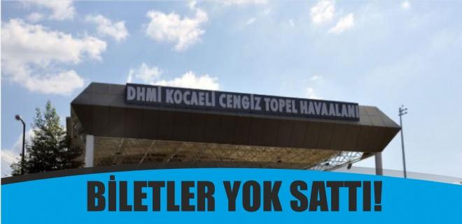 Cengiz Topel'de biletler yok sattı!