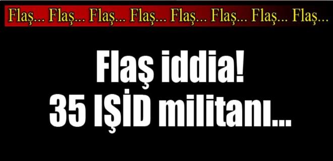 F- 16'lar IŞİD'e ait 3 hedefi vurdu; 35 ölü