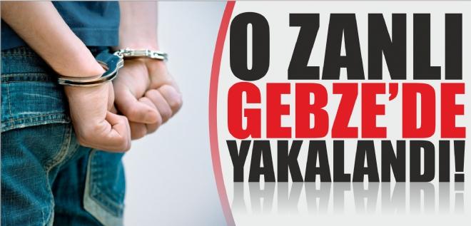 İstanbu'da öldürdü Gebze'de yakalandı!