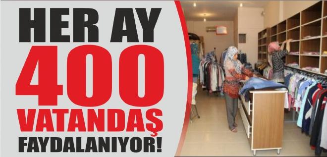 Her ay 400 vatandaş faydalanıyor