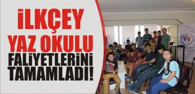 İLKÇEV , Yaz Okulu Faaliyetlerini Tamamladı!!!