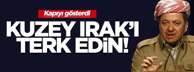 KBY: PKK, Kuzey Irak'ı terk etmeli