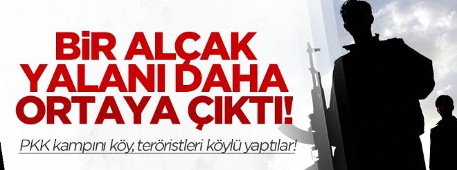 PKK'nın bir alçak yalanı daha ortaya çıktı!