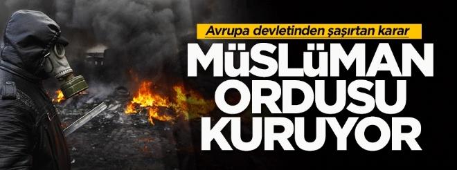Ukrayna'da müslüman taburu kuruluyor