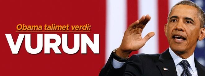 Obama'dan 'Esed'i de vurun' emri