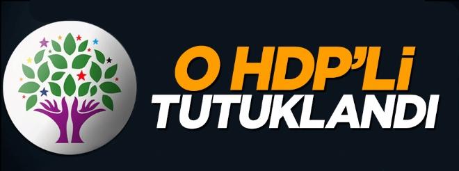 Yol kesen HDP'li başkan yardımcısı tutuklandı