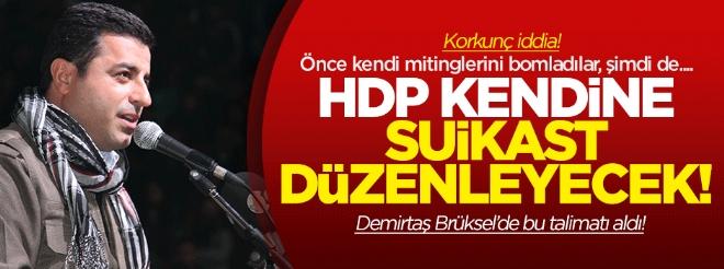 Kuşçubaşı: HDP kendine suikast düzenleyecek