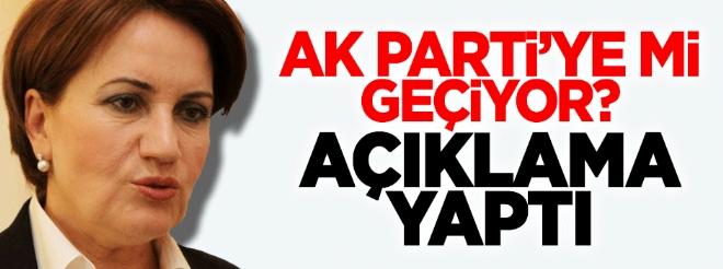 Meral Akşener'den AK Parti iddiasına jet cevap