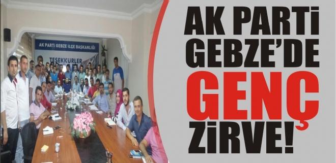 AK Parti Gebze'de genç zirve