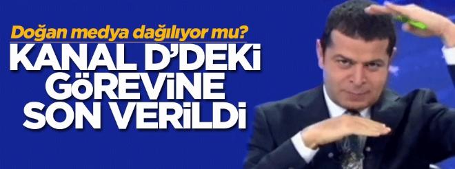 Cüneyt Özdemir'in Kanal D haberdeki görevine son verildi