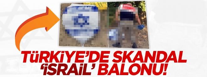 Malatya'ya ''İsrail'e hoşgeldiniz'' yazılı balon düştü