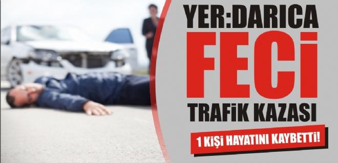 Darıca'da trafik kazası