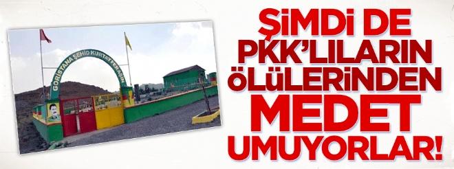 HDP'liler teröristlerin ölülerinden de medet umuyor