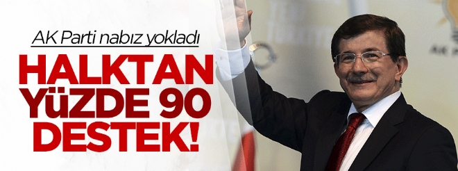 Harekata tam destek! AK Parti nabız yokladı