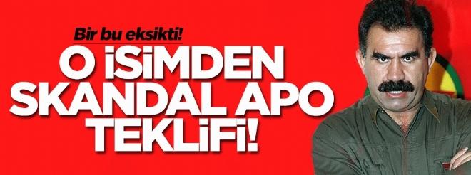 Hasan Cemal'den skandal 'Apo' teklifi