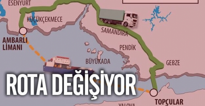 İstanbul'da TIR güzergahı değişiyor