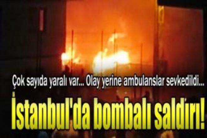 İstanbul'da polise saldırı!