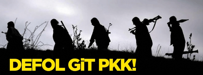 Defol git PKK!
