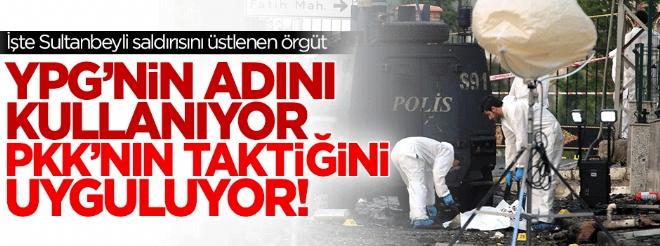 Sultanbeyli'deki saldırıyı 'Halk Savunma Birliği' adlı örgüt üstlendi