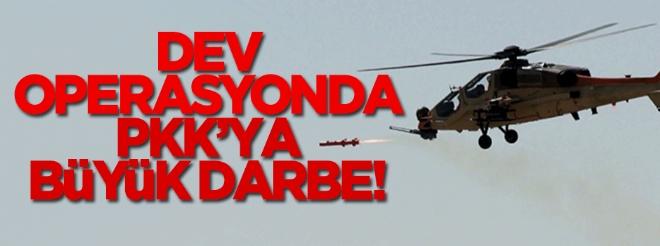 Dev operasyonda PKK'ya büyük darbe!