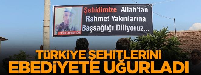 Türkiye aslanlarını ebediyete uğurladı