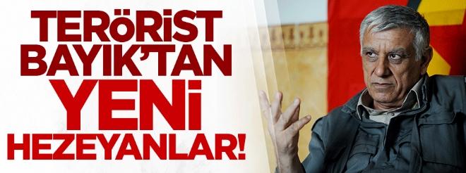 Terörist Cemil Bayık, İngiliz BBC'de Türkiye'ye iftira attı!