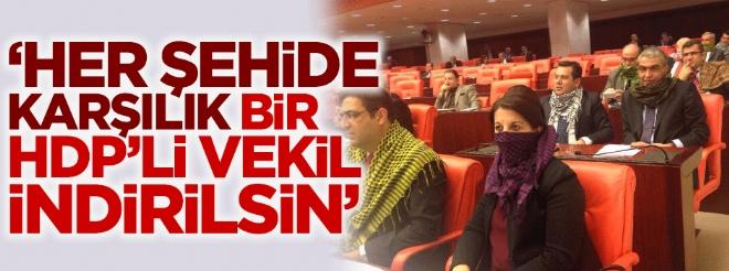 ''HDP'li vekiller indirilsin'' dedi açığa alındı!